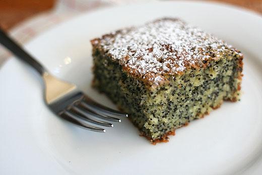 Polish Poppy Seed Coffee Cake Recipe